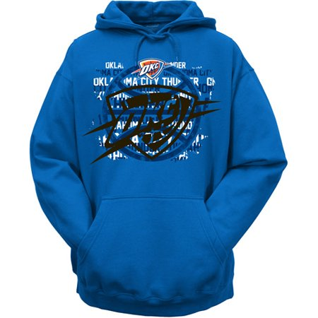 NBA Men s Oklahoma City Thunder Hooded Sweatshirt - Walmart.com ece2a8a5c6a5
