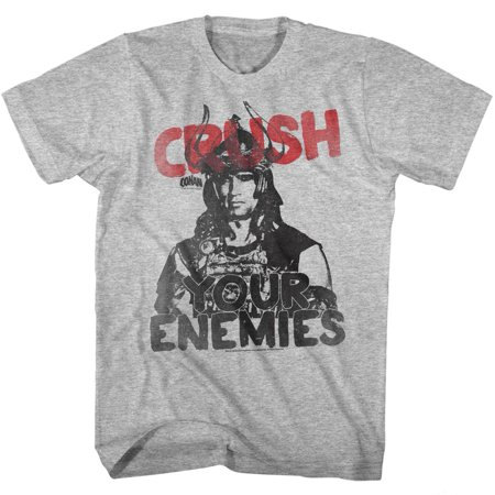 Conan Cruuuush Gray Heather Adult T-Shirt Tee - image 1 of 1