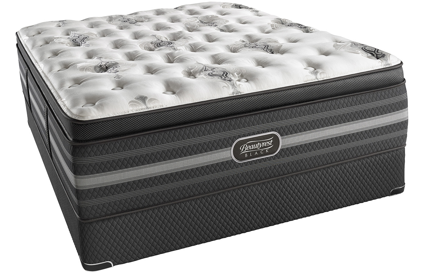 Simmons Beautyrest Black Sonya Luxury Firm Pillow Top Mattress by Simmons