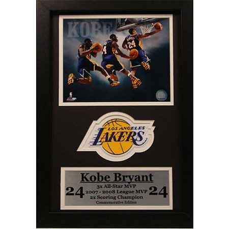 Nba Kobe Bryant Patch Frame  12X18