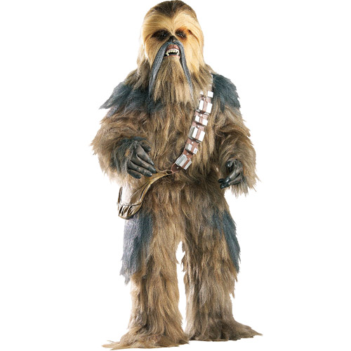 Chewbacca Supreme Edition Adult Halloween Costume - One Size 36-46