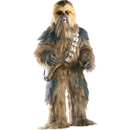 Chewbacca Supreme Edition Adult Halloween Costume - One Size 36-46 - Funny Last Minute Couples Halloween Costumes