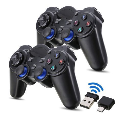 TSV USB 2.4G Wireless Gaming Controller Gamepad Joystick for Android Tablets Phone PC (Best Usb Controller For Pc)