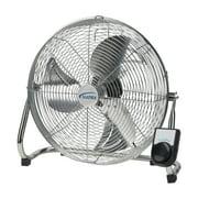 """High Velocity Floor Fans, 3 Speeds, 16"""" Diameter"""