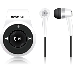 NoiseHush NS560-11978 Bluetooth Stereo Headset - White