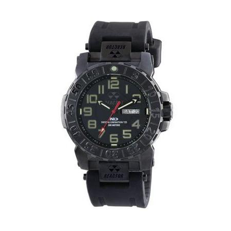 - REACTOR Trident 2 Watch - Mens, Black w/ Rubber,
