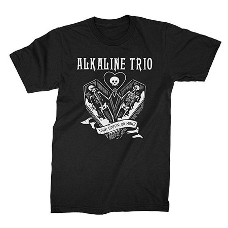 Alkaline Trio Your Coffin Men's T-Shirt - Alkaline Trio Halloween
