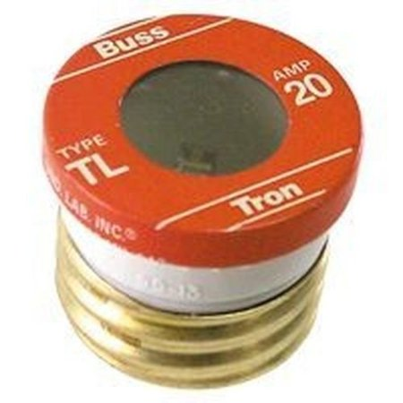 (New Lot of (16) Tl-20 Bussman 20 Amp Screw In Base House Plug Fuses 4181558