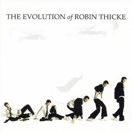 The Evolution Of Robin Thicke (CD) (Jessie J Robin Thicke Calling All Hearts)