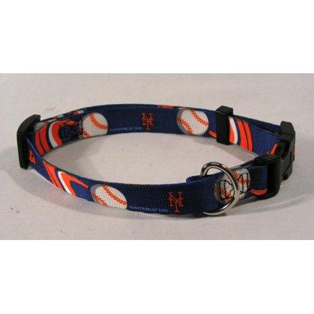New York NY Mets MLB Licensed XS Dog/Cat Pet Collar