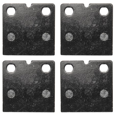 KMG Front Brake Pads for 1980-1984 BMW R 100/7T (Cast wheel) - Non-Metallic Organic NAO Brake Pads Set - image 2 de 4