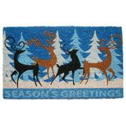 Imports Decor Deer Family Doormat