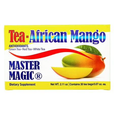 Mango Africano Te Master Magic African Mango Tea - 30