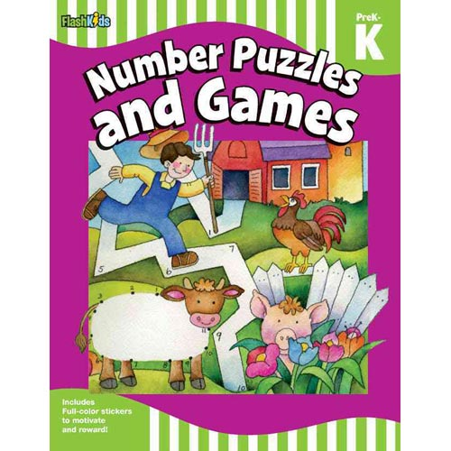 Number Puzzles and Games PreK-K