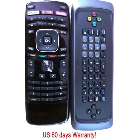 Genuine Vizio Internet QWERTY keyboard Remote for E472VLE E552VLE E422VLE E472VL ()