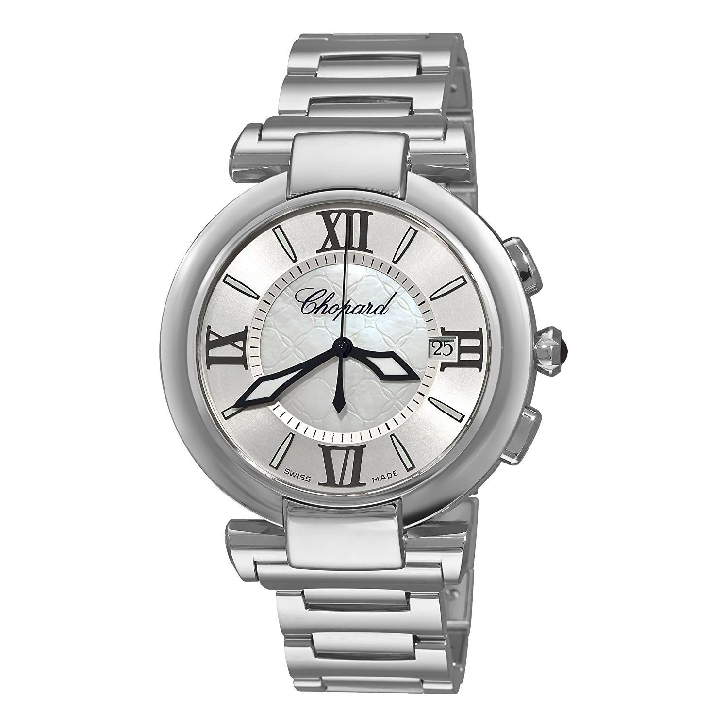 Chopard Men's 40mm Steel Bracelet & Case Anti Reflective ...