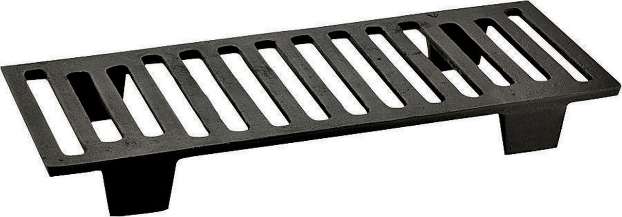 Vogelzang 26G Wood Stove Grate, 7 in W x 17-3 4 in D x 2 in H, Cast Iron by US STOVE
