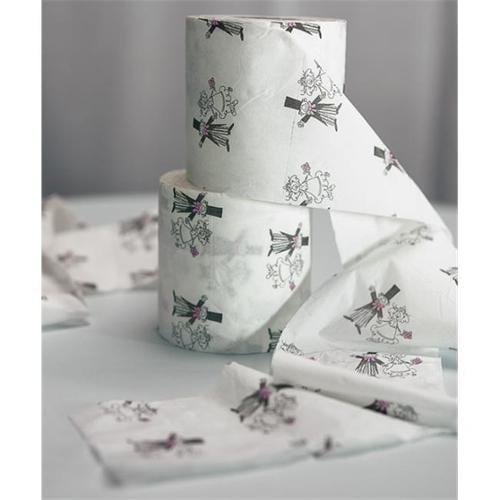Weddingstar 7064 Light-Hearted Toilet Paper Roll- Pack of 2