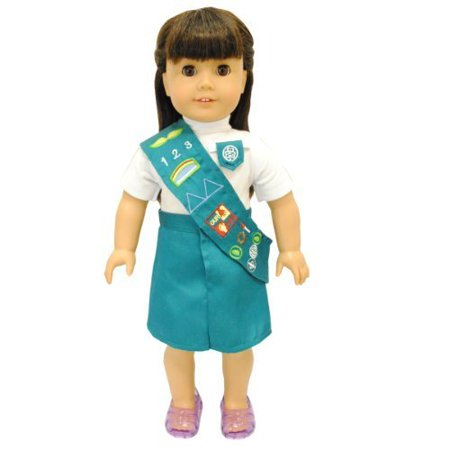 Doll Clothes - Junior Scout Uniform Outfit Fits 18