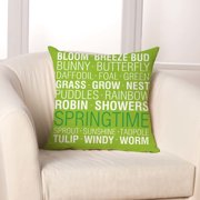 Checkerboard, Ltd Spring Things Throw Pillow