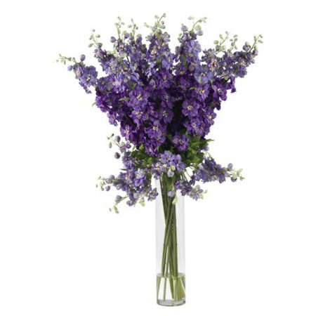 Wholesale purple delphinium silk flower arrangement decor silk wholesale purple delphinium silk flower arrangement decor silk flowers mightylinksfo