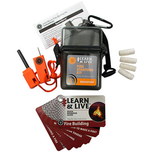 Ultimate Survival Technologies Learn and Live Fire Starting Kit by Ultimate Survival Technologies