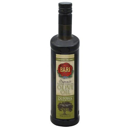 Bari Organic Extra Virgin Olive Oil, 16.9 fl oz, (Pack of 6)