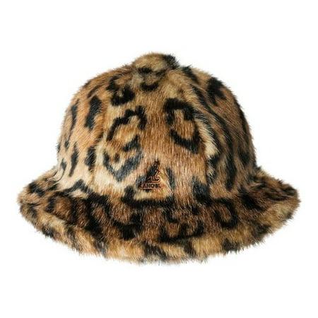 ccee18d2ba8f8 Kangol Faux Fur Casual Bucket Hat - Walmart.com