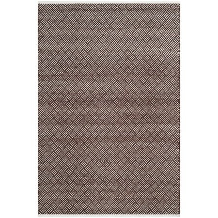 """Safavieh Boston 2'3"""" X 7' Hand Woven Cotton Pile Rug in Brown - image 3 of 7"""