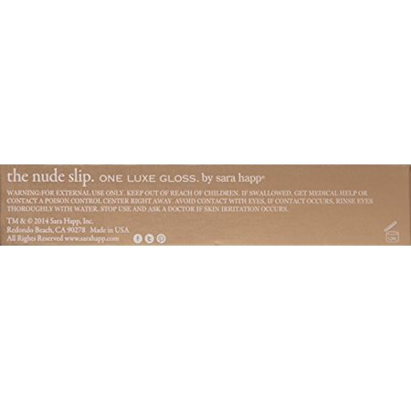 Best sara happ The Slip One Luxe Gloss, Nude, 0.21 oz. deal