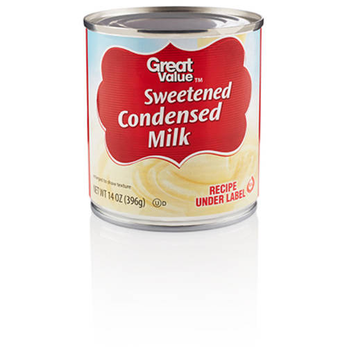 (4 pack) Great Value Sweetened Condensed Milk, 14 oz