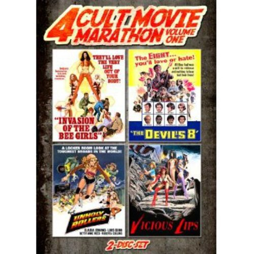4 Cult Movie Marathon, Vol. 1 - Unholy Rollers / Invasion Of The Bee Girls / Devil's Evil / Vicious Lips
