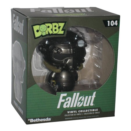 Fallout Power Armor Funko Dorbz Vinyl Action Figure (Best Fallout 4 Power Armor)
