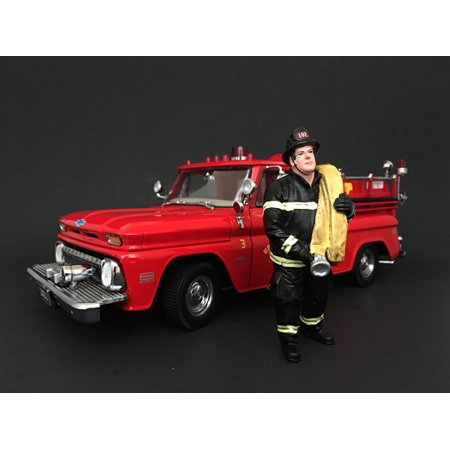 Firefighter Job Done Figurine / Figure For 1:18 Models by American Diorama