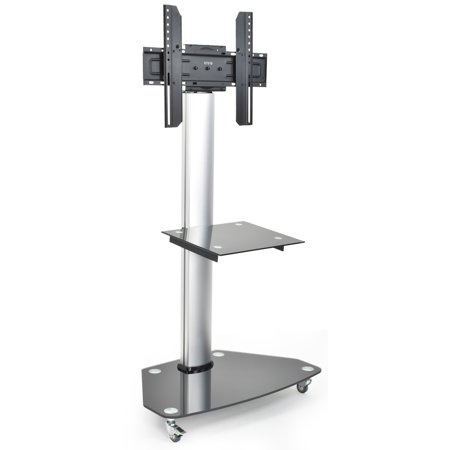 37 Plasma Panel - VIVO Mobile TV Cart for LCD LED Plasma Flat Panels Stand with Wheels | fits 32