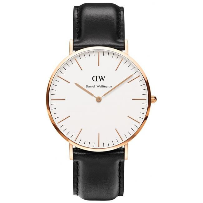 0107DW Daniel Wellington Sheffield Mens Watch - Rose Gold