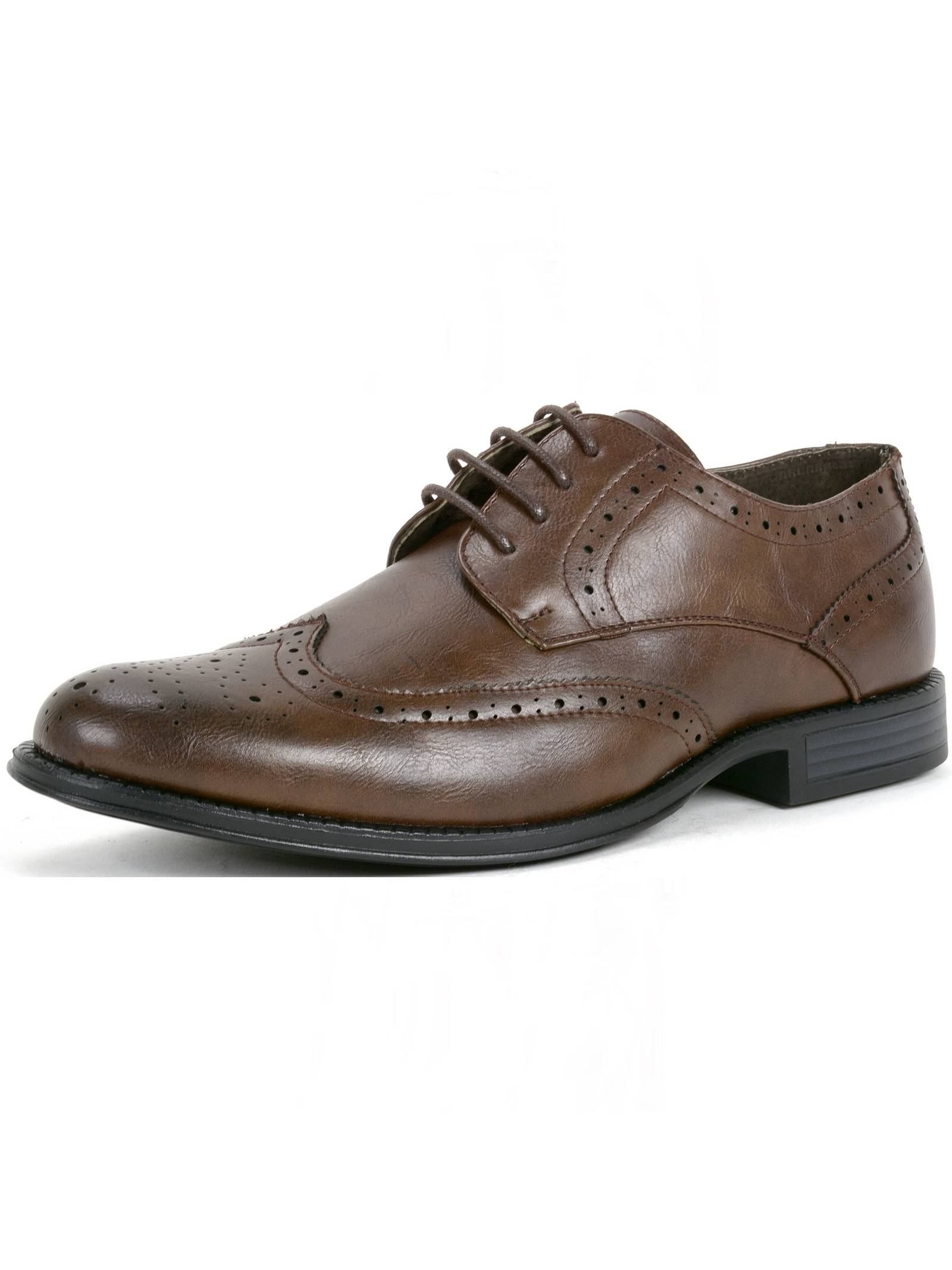 Alpine Swiss Zurich Mens Oxfords Brogue Medallion Wing Tip Lace Up Dress Shoes