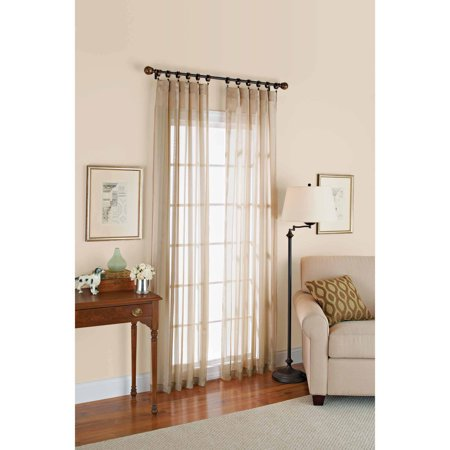 Better homes and gardens satin stripe 84 length window Better homes and gardens curtains