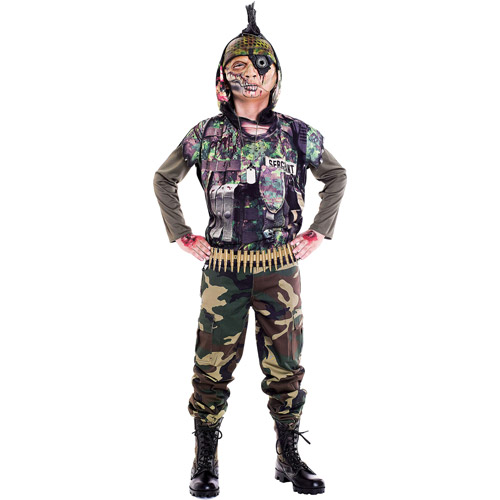 Sergeant Splatter Child Halloween Costume