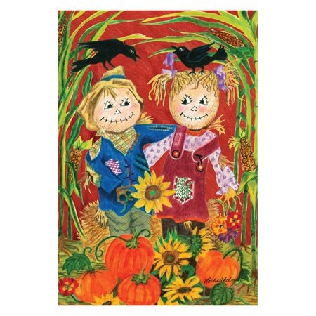 - Toland Home Garden Scarecrow Love Flag