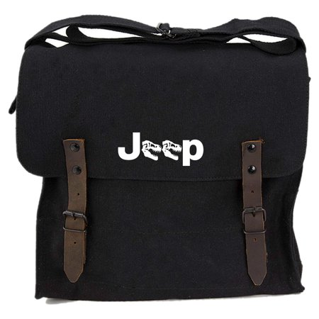 Grab A Smile Jeep Raptor Heavyweight Canvas Medic Shoulder Bag