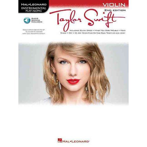 Taylor Swift: Instrumental Play Along for Violin