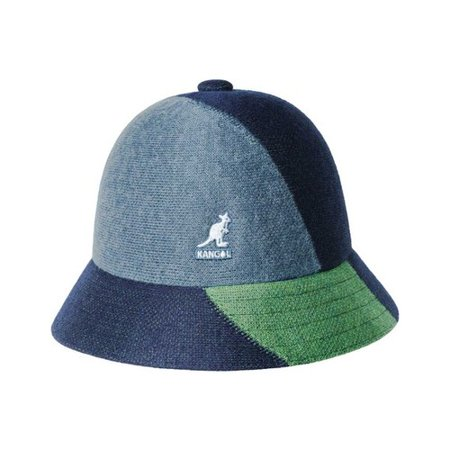 72a8b8df91684 Kangol - Men s Kangol Color Blocked Bucket Hat - Walmart.com