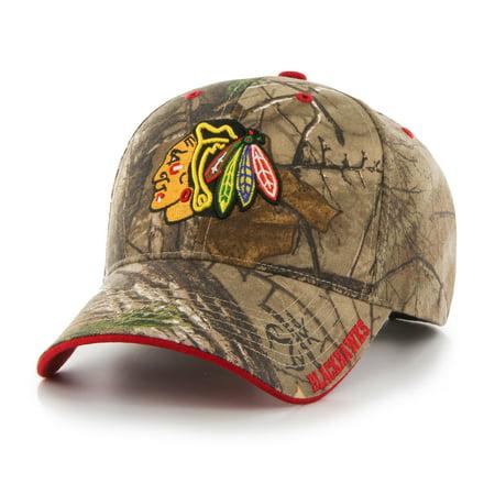 NHL Chicago Blackhawks Realtree Frost Cap / Hat by Fan Favorite