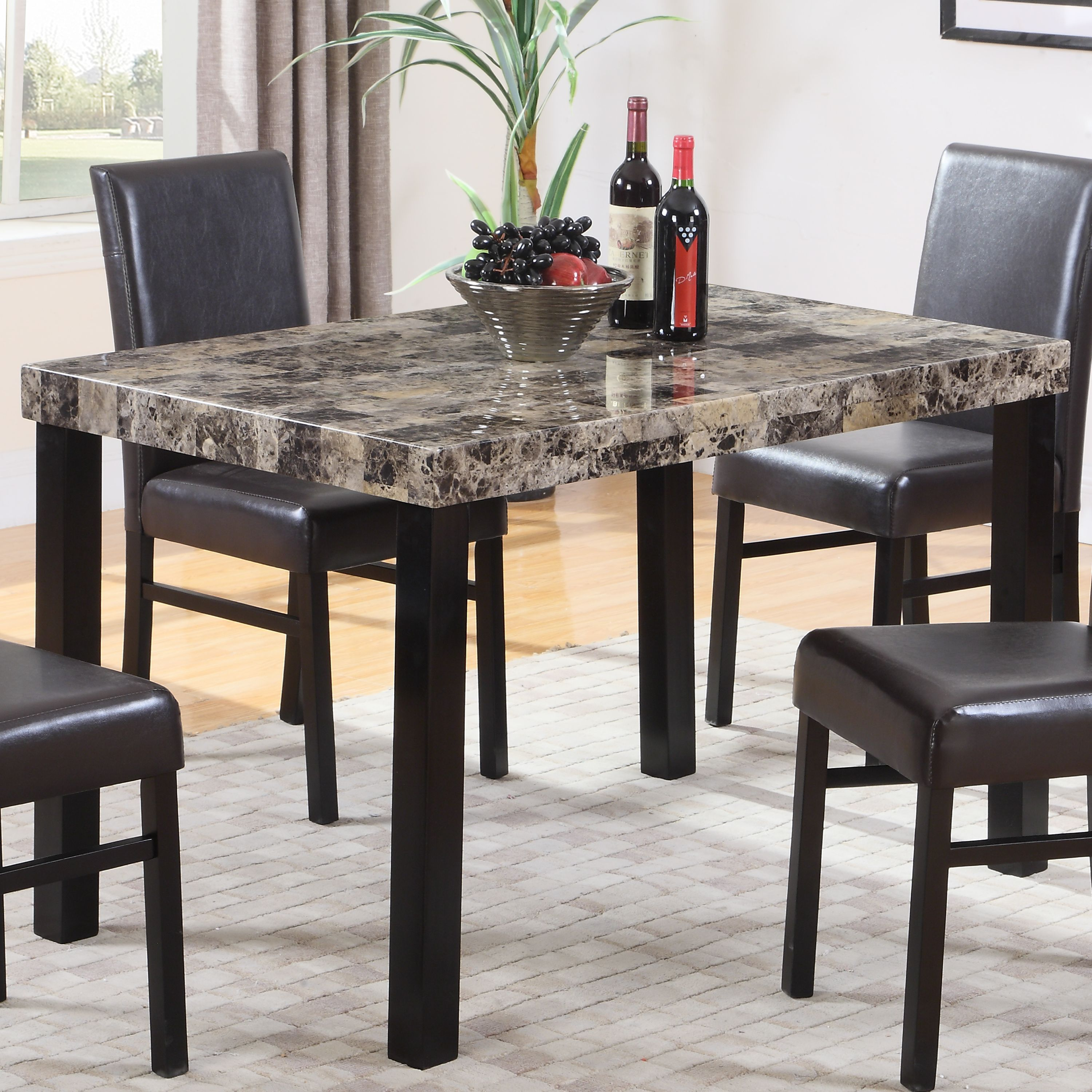 Best Master Furniture's Britney Dining Table Only