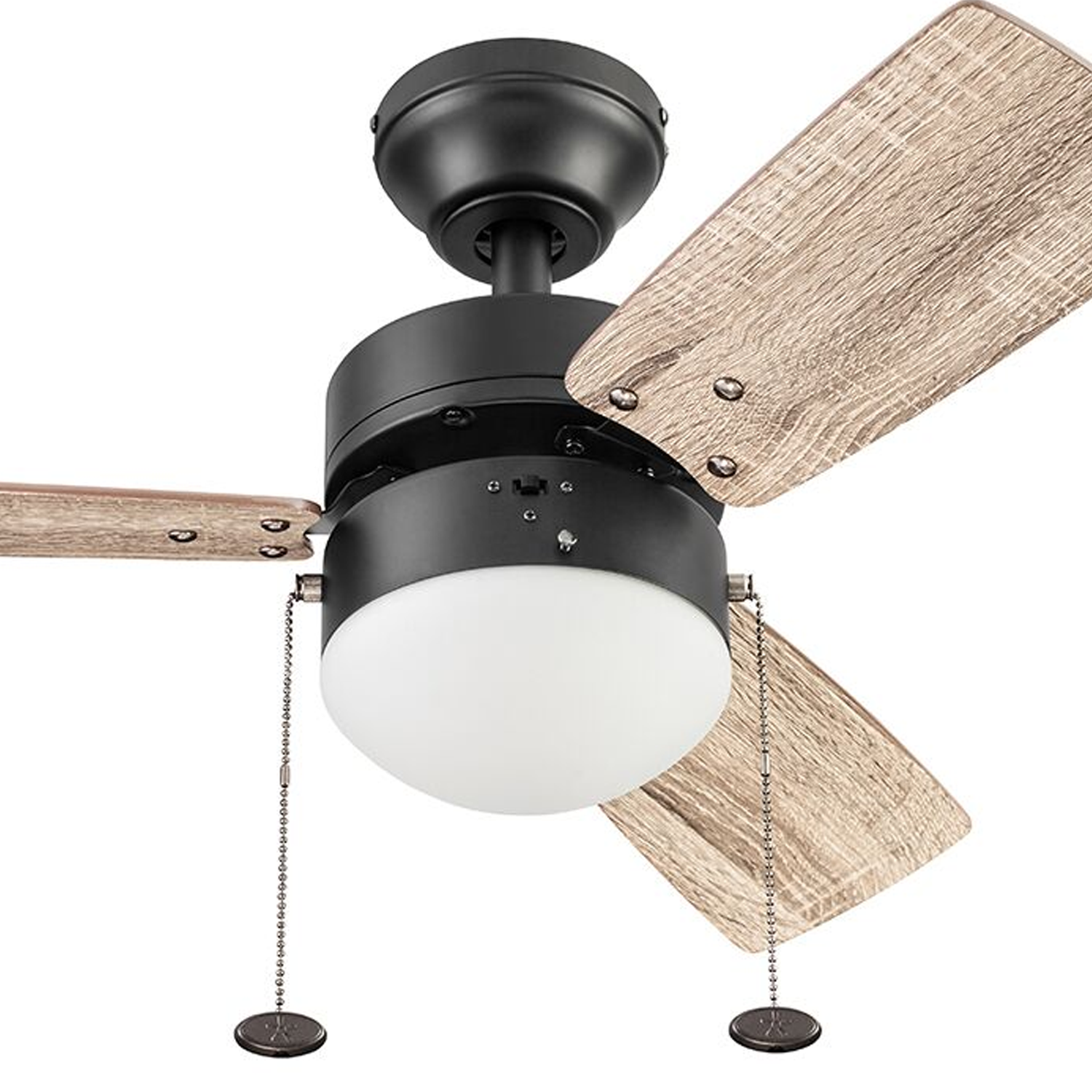 Better Homes Gardens 30 Oil Rubbed Bronze 3 Blade Ceiling Fan Walmart Com Walmart Com