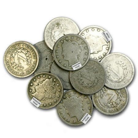 1883-1912 Liberty Head V Nickel Avg