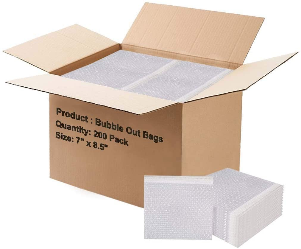 Shipping Storage and Moving. Packing Self-Sealing Packaging Mailing Pack of 20 Bubble Pouch Bags Bubble Out Bags 12 x 15.5 Clear Cushioned Pouches 12 x 15 1//2 by Amiff