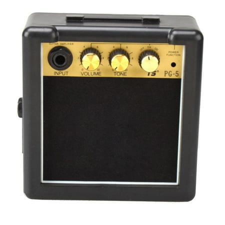 Ktaxon 3W 5W Mini Electric Guitar Amp Amplifier Speaker Volume Tone (Best Guitar Amp Attenuator)