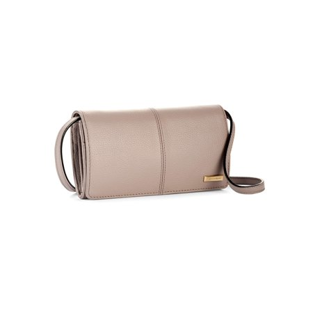 Tignanello Pebble Leather Go-Go Crossbody Handbag (Giani Bernini Pebble Leather Zipper Flap Crossbody)